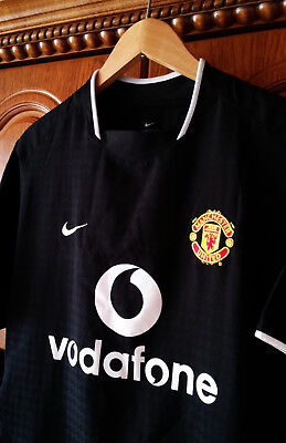 Shirt Jersey Manchester United 2003 2004 2005 Away Very Good Cond Nike Size S