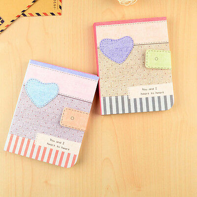 Cartoon Notepad Notebook Writing Paper Diary Journal Memo Stationery Gifts 1X WC