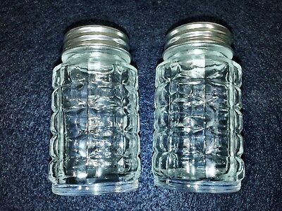 Libbey Salt And Pepper set of 2 Shakers New 5045 old fashion resturant style.