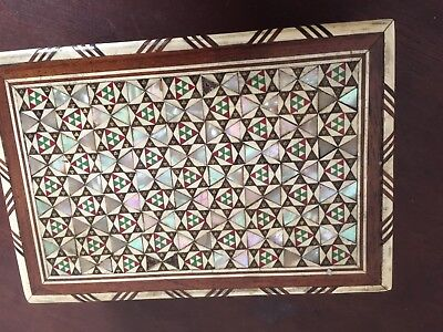 Mother Of Pearl Vintage Box