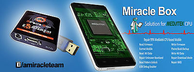Miracle box + Miracle key + cables for multi-brand phones unlock repair Android