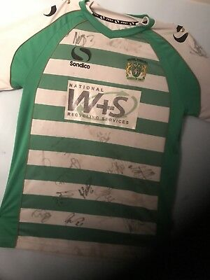 Signed Yeovil Town Football Shirt