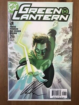 Green Lantern 1 Df Signed By Alex Ross Variant Cover (541/699) Hot!
