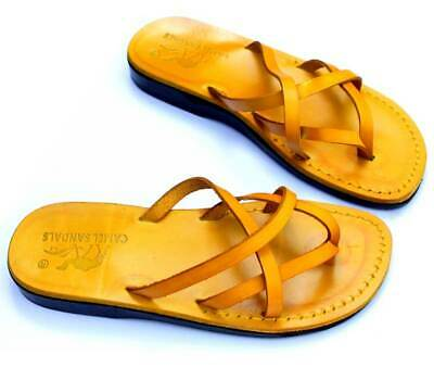 Rainbow Womens 7.5 8 8.5 Leather Strap Flat Flip Flops Sandals Shoes 1396-1014 Clothing, Shoes & Accessories