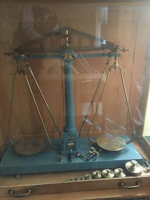 Henry Troemner & Co 60kg Gold Bullion balance ca. 1969 & Display Case