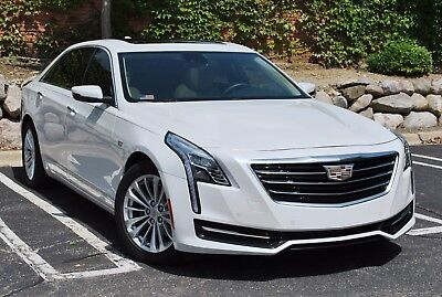 2017 Cadillac CT6 4-Door Luxury Turbo Sedan w/ Driver Pkg 2017 Cadillac CT6 - BLUETOOTH - BOSE - LED -SIRIUS XM - PANO ROOF - REMOTE START