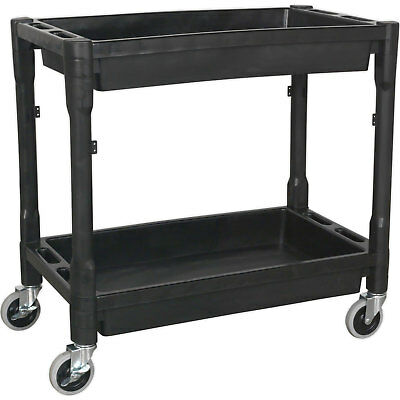Sealey CX204 Trolley 2 Level Composite Heavy Duty