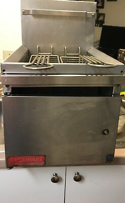 USED-Grindmaster-Cecilware GF10-LP Countertop 10-Pound Propane Gas Fryer, 2600