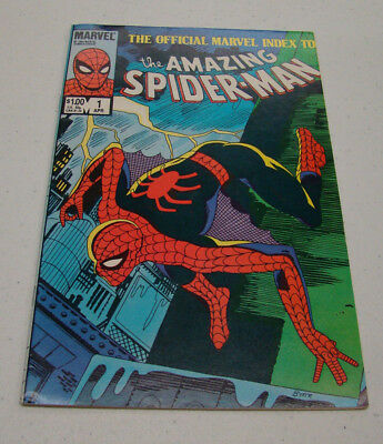 The Official Marvel Index to The Amazing Spider-Man #1-7 (Marvel Comics)