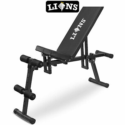 Foldable Exercise Folding Bench Board Press Up Weightlifting Fitness Abs Crunch