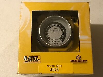 "AutoMeter 4975 Ultra-Lite II Electric Air Fuel Ratio Gauge 2-1/16"" Full Sweep"