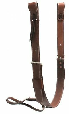 "Showman PONY SIZE 1 3/4"" Wide Leather Back Cinch W/ Roller Buckles!"