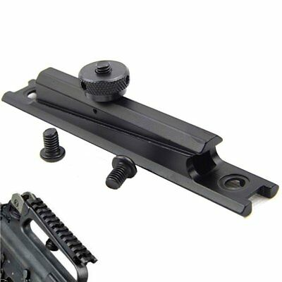 Tactical See-Through Carry Handle Weaver Adapter Picatinny Rail Scope Mount Base