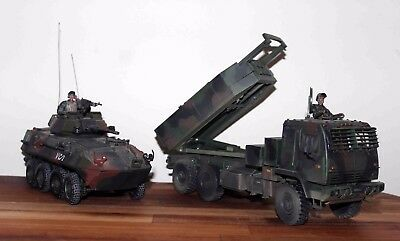 2 Unimax Models: Forces Of Valor U.s. M142 Himars & Lav25 Light Armoured Vehicle