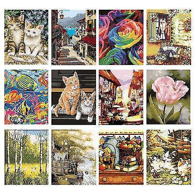DIY Paint By Number Kit Drawing Picture Canvas Art Digital Oil Painting Decor UK