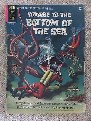 Voyage to the Bottom of the Sea Comics - Lot of 3 (#2, #4, #6)