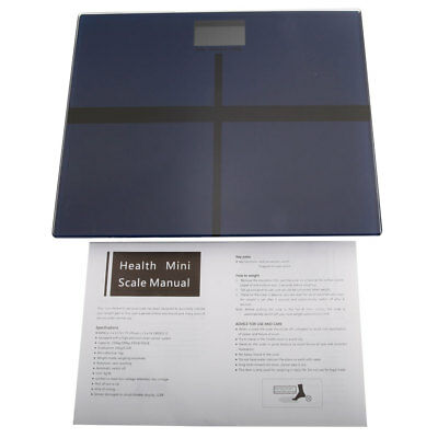 180kg/100g Electronic Toughened Glass Digital LCD Bathroom Body Weighing Scales