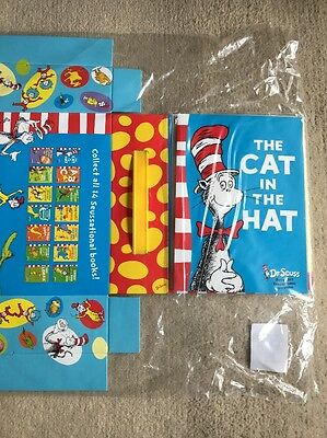 Lot 14 Dr Seuss HC Cat In Hat Book Children's Classic Green Eggs Ham