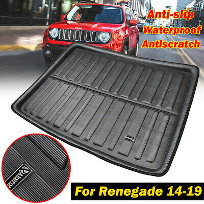 Boot Cargo Liner Rear Trunk Mat Floor Tray Protector For Jeep Renegade 2014-2019