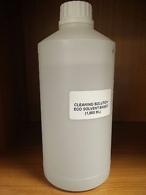Eco Solvent Cleaner Cleaning Solution Roland Mutoh Mimaki DX4 DX5 DX7 1,000 ML