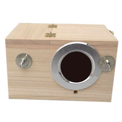 Pet Products Wood Inside Mount Nest Box for Birds Lovebird New