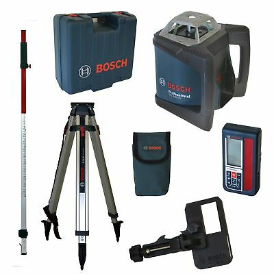 Bosch Rotationslaserset GRL500HV + LR50 + BT170HD + GR 240