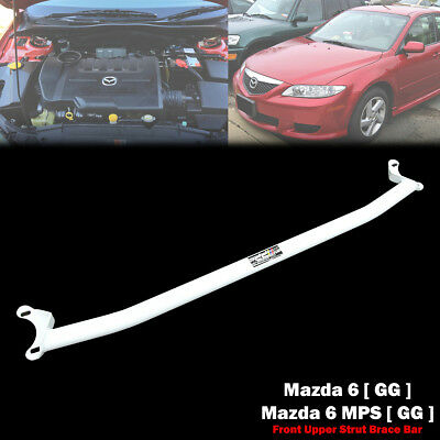 DD Racing 2 Point Front Upper Strut Tower Brace Bar For Mazda 6 GG / MPS 03-08