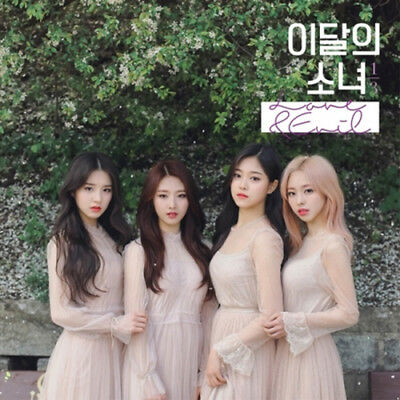 MONTHLY GIRL LOONA 1/3 [LOVE&EVIL] 1st Mini Repackage Album CD+Book+Card SEALED