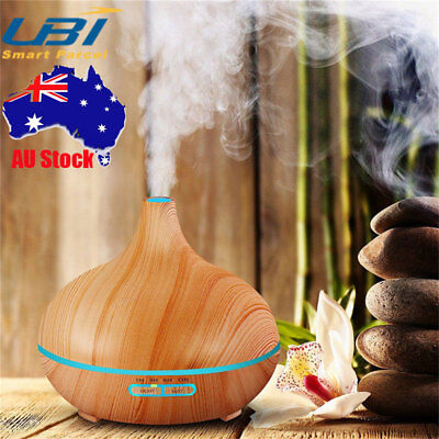 LED Essential Oil Aroma Diffuser Ultrasonic Humidifier Aromatherapy Air Purifier