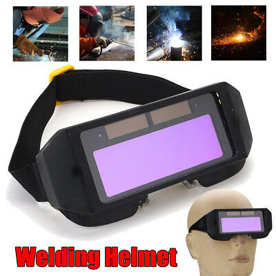 Pro Auto Solar Darkening LCD Welding Glasses Mask Goggles Helmet Eyes 2 Way
