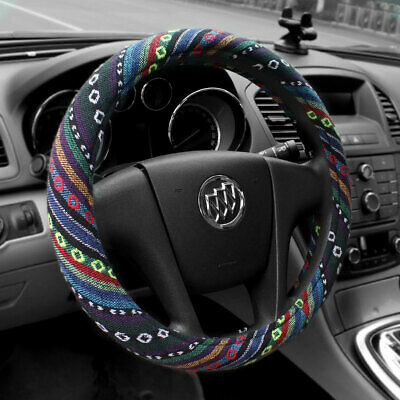 Universal Baja Car Steering Wheel Cover 15'' Size M Fit Most Cars New Automotive