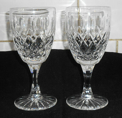 Two Royal Brierley Gainsborough Water Goblets