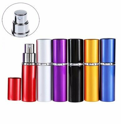 1Pc Mini Spray Perfume Bottle Travel Refillable Bottles Empty Cosmetic Container
