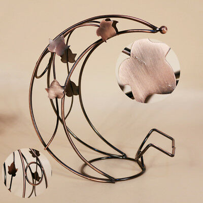1Pcs Creative Metal Moon Model Wine Rack New Metal Wine Holder Hot