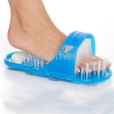 1 Piece Slipper Foot Masage Tool Feet Calloused Cleaner with Scrubber Brush
