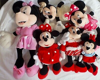 Various Minnie Mouse plush/soft toys - Multi Listing - Choose your Own - Disney
