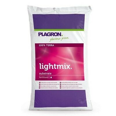 Terriccio Pre-Fertilizzato con perlite Plagron Light Mix 50 Lt