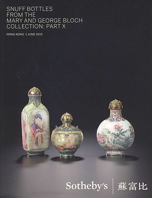 Sotheby's Catalogue Snuff Bottles  June 2015 HB