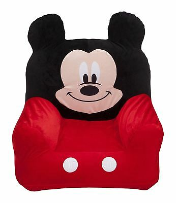 Mickey Mouse Clubhouse Childrens Inflatable Chair Kids Blow Up Seat Playroom