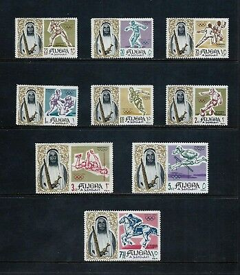 FUJEIRA _ 1964 'OLYMPICS' SET of 9 _ mh ____(496)