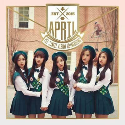 APRIL [BOING BOING] 1st Single Album CD+Photo Book+Photo Card K-POP SEALED