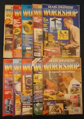Model Engineers Workshop Magazine  Complete Issues 1 to 10 Summer 1990- May 1992