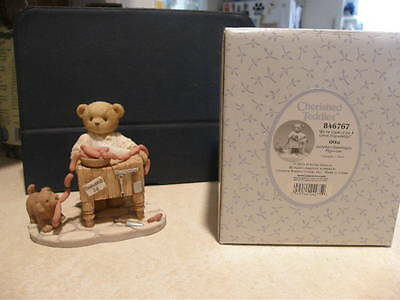 Cherished Teddies OTTO 846767 WE'VE COOKED UP A GREAT FRIENDSHIP