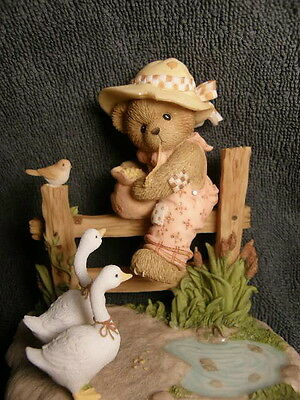 Cherished Teddies LONDIE - COME & GET IT!  EUROPEAN IMPORTS EXCLUSIVE SIGNED