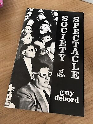 Society of the Spectacle by Guy Debord (Paperback, 1984)