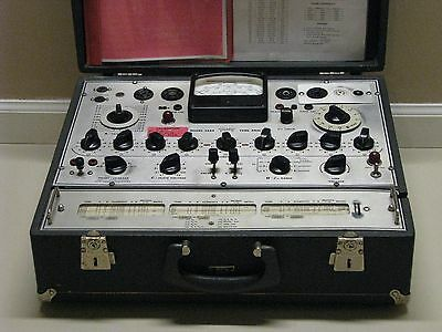 Triplett 3444 Mutual Conductance Tube Tester - Calibrated