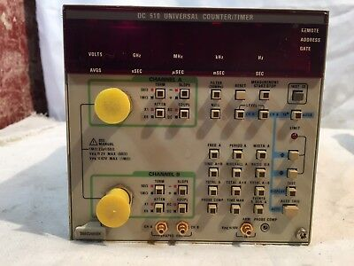 TEKTRONIX DC 510 Universal Counter/Timer Oscillator Plug-in Component Module