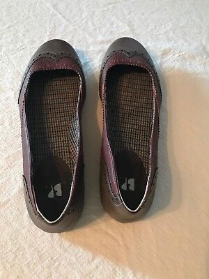 Nordstrom BP Flats Ballet Shoes Women's SZ 9 Brown EXCELLENT CONDITION