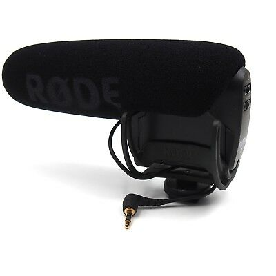 NEW Rode VMPR VideoMic Pro R with Rycote Lyre Shockmount Microphone