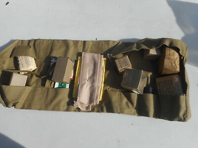 WW2 Jungle Medical Kit Individual MFG Davis Emergency Medical